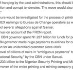 Garba Shehu: Government wont fight Sanusi for criticising Buhari. Days later: https://t.co/Hbd9SoPMAA