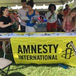 .@amnesty at DC rally for refugees #Dc4r at Washington monument #refugeeswelcome https://t.co/k0k0hJ1ixB
