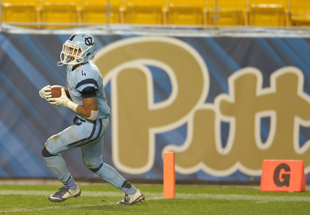 Former Central Valley running back Kyle Vreen is listed as a freshman RB on Pitt's roster. #BCTsports #pitt https://t.co/Lkm2XFj8AR