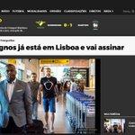 #Castaignos in Lissabon gelandet, wenn der Medizincheck klappt, kriegt die  #SGE die 2,5 Mio. € in etwa wieder rein https://t.co/ADMX9R79tT