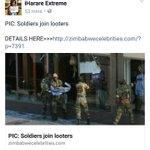 @Gwabalanda7 @mamoyo01 @maDube_ @NehandaRadio @giggz83 Soldiers looting in Zimbabwe #ThisFlag https://t.co/Jl84pPE2WL