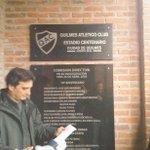 Se presentó la nueva placa del Estadio Centenario - Ciudad de Quilmes. https://t.co/sIKaW8K3C8