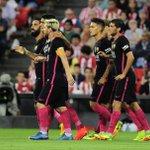 HT: Athletic Bilbao 0-1 Barcelona Ivan Rakitics header off a brilliant Arda Turan assist has Barcelona ahead. https://t.co/2ePB0i0XsT