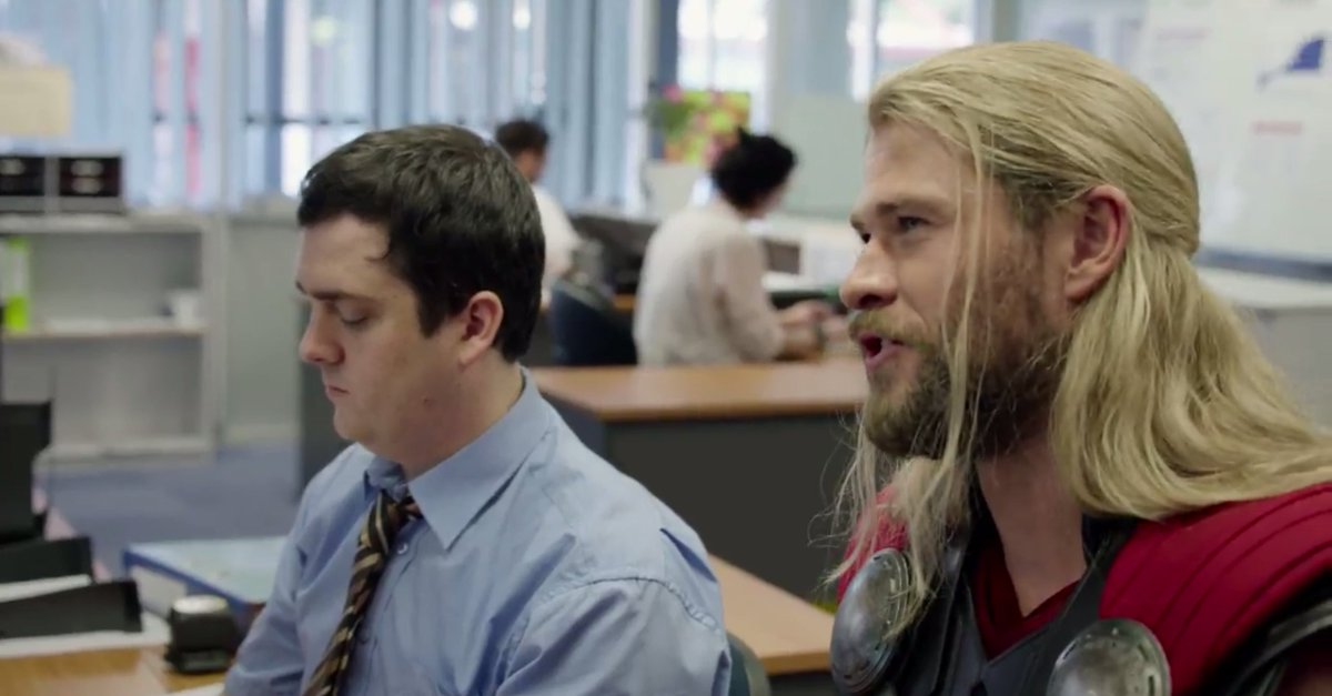 Watch the #Thor mockumentary showing what he was up to during #CivilWar https://t.co/ARAuQ4Pc3A https://t.co/hc8IZX0cj6