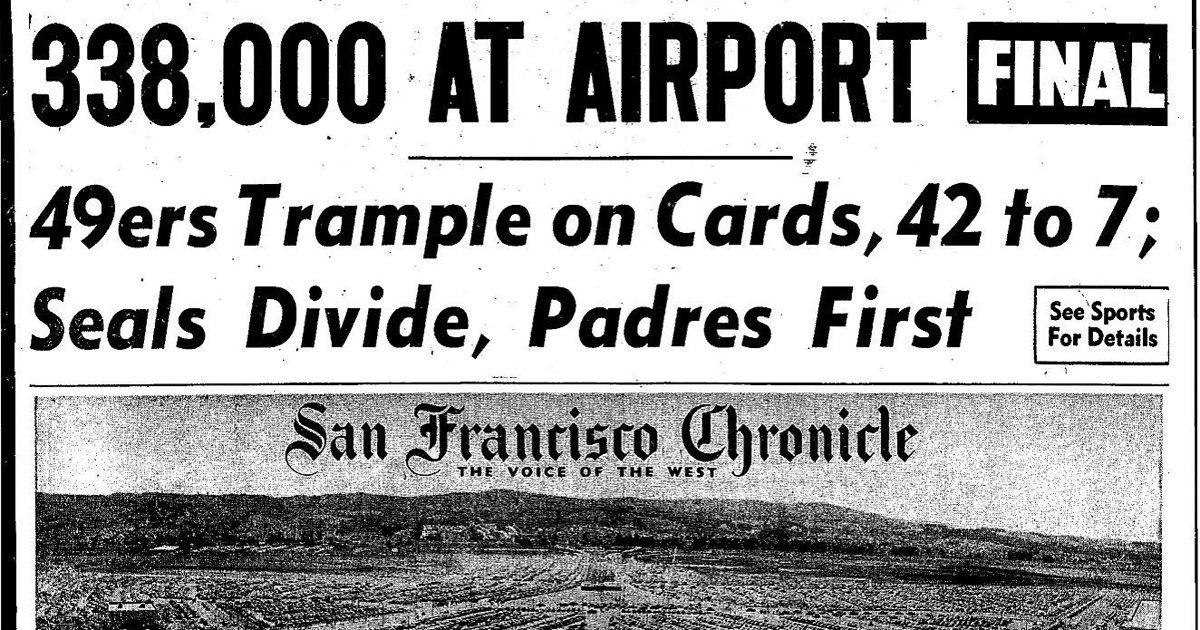 RT @sfchronicle: .@flySFO's biggest aviation party in history. ChronicleVault via @TimothyORourke