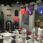 Theres only 2 weeks left to enjoy our giant #chesscastle at the @WorldChessHOF! #KingsQueensCastles #stl https://t.co/oaTEN76OQk