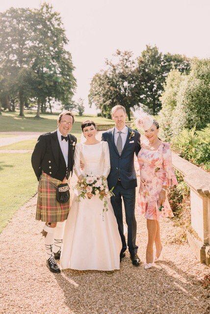 Daughter @taranewley looked ravishing at her wedding last week. New husband Nick didn't look bad either LOL #wedding https://t.co/mPPcvaeV5J