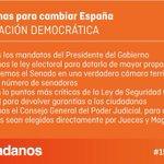 La regeneración democrática, uno de los pilares fundamentales de las #150ReformasCs https://t.co/57OxoICieH