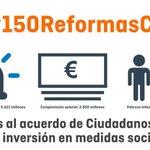 Reformas concretas para necesidades reales. El impulso necesario. #150ReformasCs https://t.co/hRsJCNnVbp