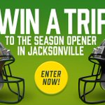 LAST CHANCE! Enter to win a trip to see the #Packers play in Jacksonville Week 1 ➡️ https://t.co/r3BfmFp23o https://t.co/TuV5yXHyPm