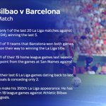 Champions Barcelona meet Athletic Bilbao at San Mames, live now on Sky Sports 1. Heres the Story of the Match https://t.co/E8nzFqKbwl