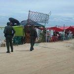 En #SanAntero patrullamos las playas acompañado a turistas y residentes brindando seguridad @PoliciaDECOR https://t.co/Wi9ZT7fhGW