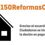 Porque los que han sufrido la crudeza de la crisis merecen una 2a oportunidad impulsamos las #150ReformasCs https://t.co/b8hWNCSbit