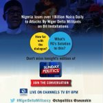 [DO NOT MISS] UK SKY CHANNEL 575 tonight ... ATROCITIES OF NIGER DELTA MILITANTS @seunokin @channelstv @denilucs https://t.co/OIbYm40UYd