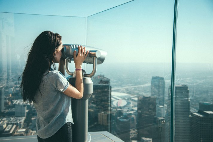City of Angels views are waiting! RT @discoverla: Get LostInLA's views at @SkyspaceLA.