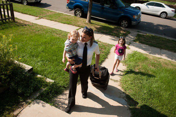 When the Captain Is Mom: Accommodating New Motherhood at 30,000 Feet