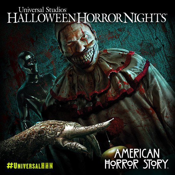 Experience three twisted seasons of American Horror Story in one demented journey at #UniversalHHN! https://t.co/rm2zHg51w9