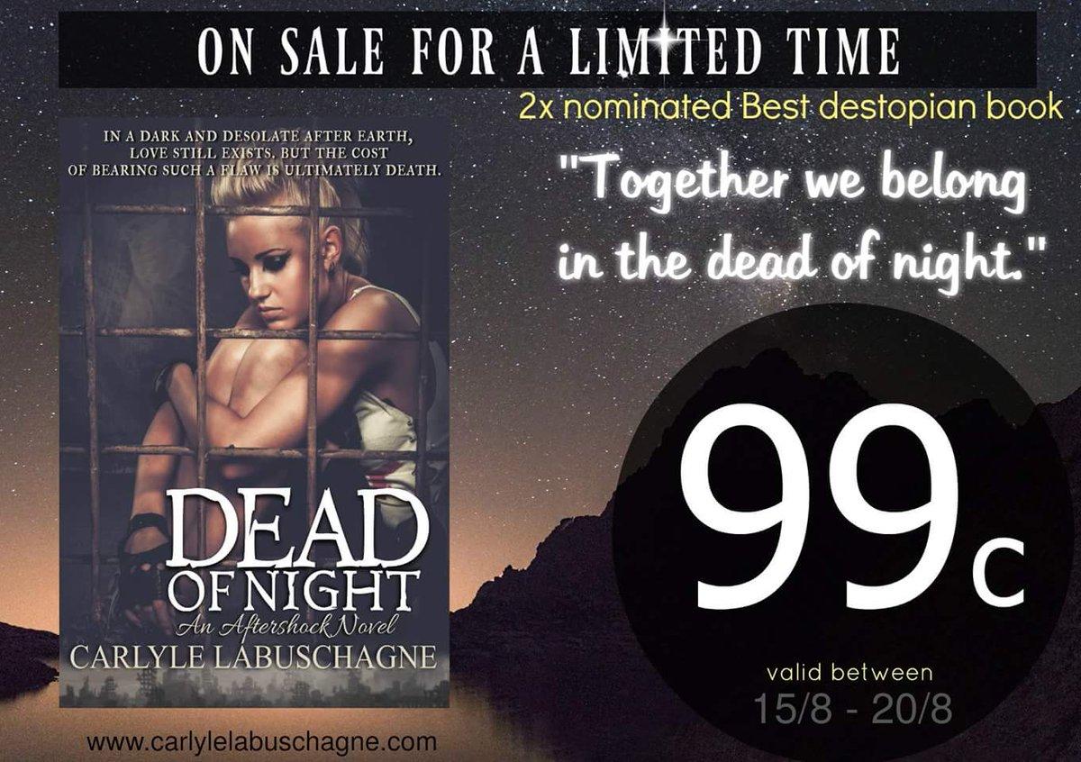 99 c for this week only! Dead of Night: An Aftershock Novel https://t.co/ZbhTmu6jHn via @amazon https://t.co/TJoYO3NAKr