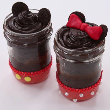 Oh, boy! Treat you and your sweetheart to @Disney_Family's Mickey and Minnie dessert.