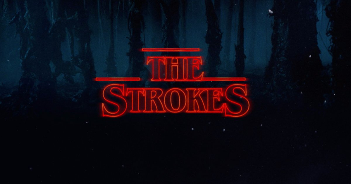Combining 2 great things @TheStrokes & @Stranger_Things https://t.co/ERGyh97Pym https://t.co/mYBUCNJMsk