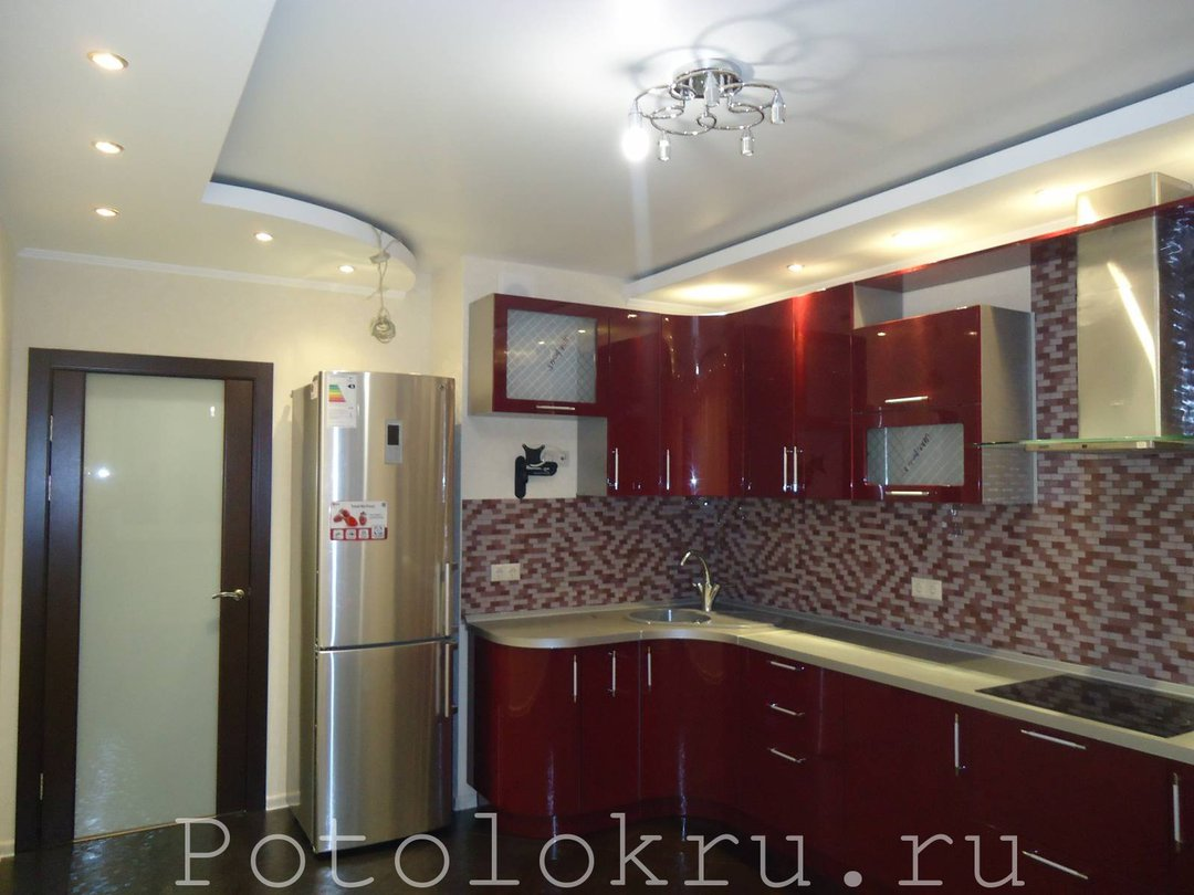 Потолки своими руками на кухню