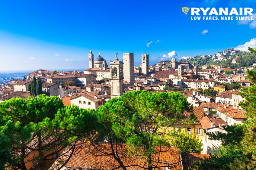 We've announced a new route from @EDI_Airport to Milan - Bergamo, beginning in March 2017