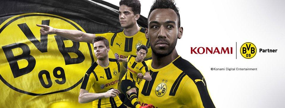 ウイニングイレブンはドイツの人気サッカーチーム ボルシア ドルトムントのオフィシャルパートナーとなりました! #ウイイレ https://t.co/9lmeOOeF4I https://t.co/vLu2LBMwBY