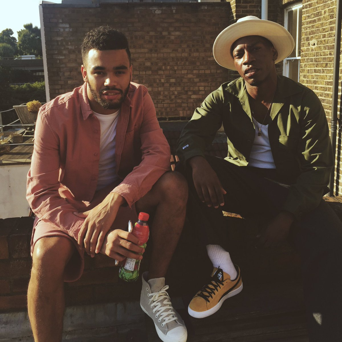 Shooting a new music video for my song 'Swear down' ft my bro @YungenPlayDirty