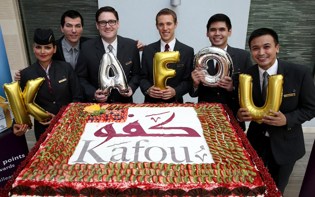 We're celebrating the success of our cabin crew.