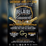 (SATURDAY) #BELAIRELUXE LAUNCH & GRAND OPENING OF GOLD ROOM  LADIES IN FREE ALL NIGHT MUSIC BY @1JazzyJeff  #UF20 https://t.co/C8PINJlyt0