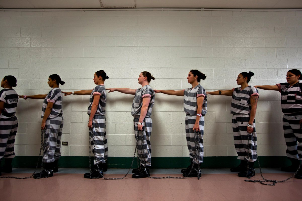 Women in jails are fastest growing population behind bars. Most are mothers: https://t.co/iuUOCrZEZZ #RethinkJails https://t.co/9TjXCDeobP