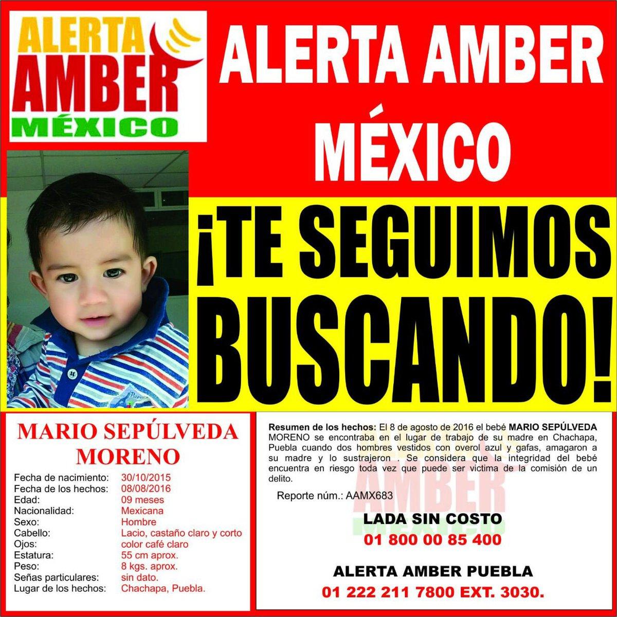 Por favor ayudemos a los padres de Mario a encontrarlo tiene solo 9 meses RT @AztecaNoticias @HechosAM @PGR_Pue https://t.co/ZcaS7Y9lMp
