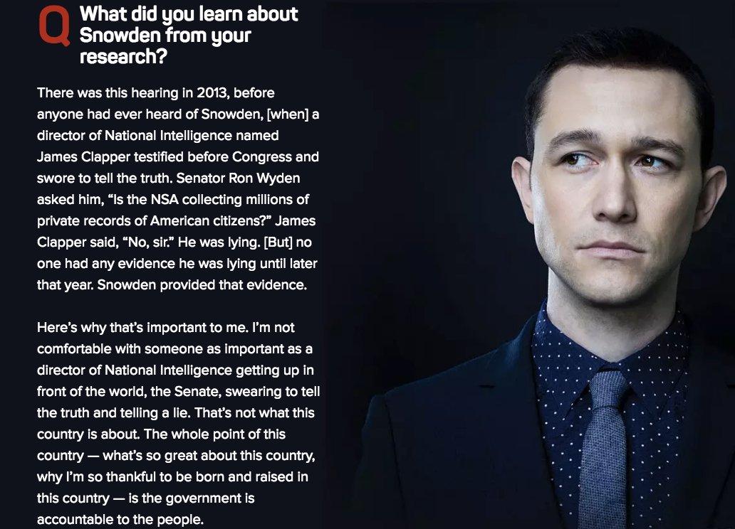 RT @ggreenwald: Here's @hitRECordJoe on what he learned preparing to play @Snowden https://t.co/SZK1OWheII https://t.co/kSxHMfzK6u