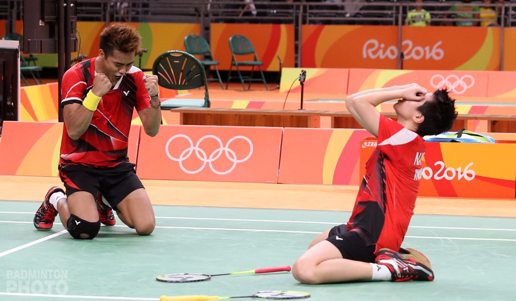 Many congrats to our #INA friends @INABadminton on winning XD oLYMPIC GOLD. Natsir/Ahmad are a real delight to watch https://t.co/MOilXZiQiU
