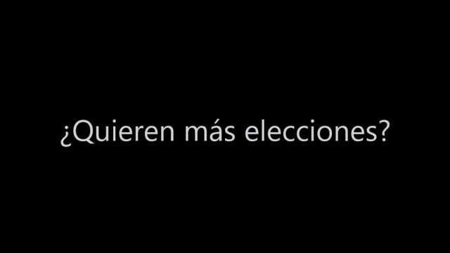 Quieren más elecciones? Alberto Franceschi 🔉 8H8 Tía de Oscar Pérez Memphis Myles Jack #ConDuqueGanamosTodos https://t.co/AfqpnthCld