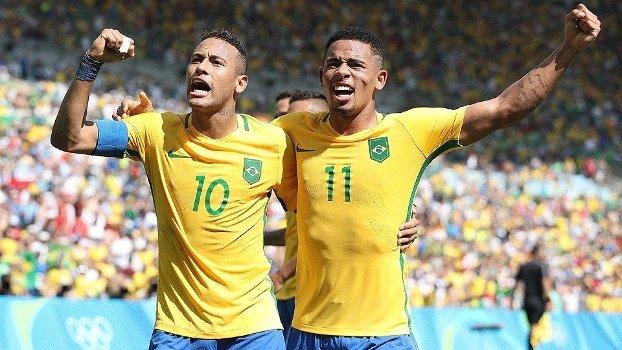 Brasil goleia Honduras e vai para a final em busca do primeiro ouro olímpico no futebol masculino!! https://t.co/YbpBkmJH9m