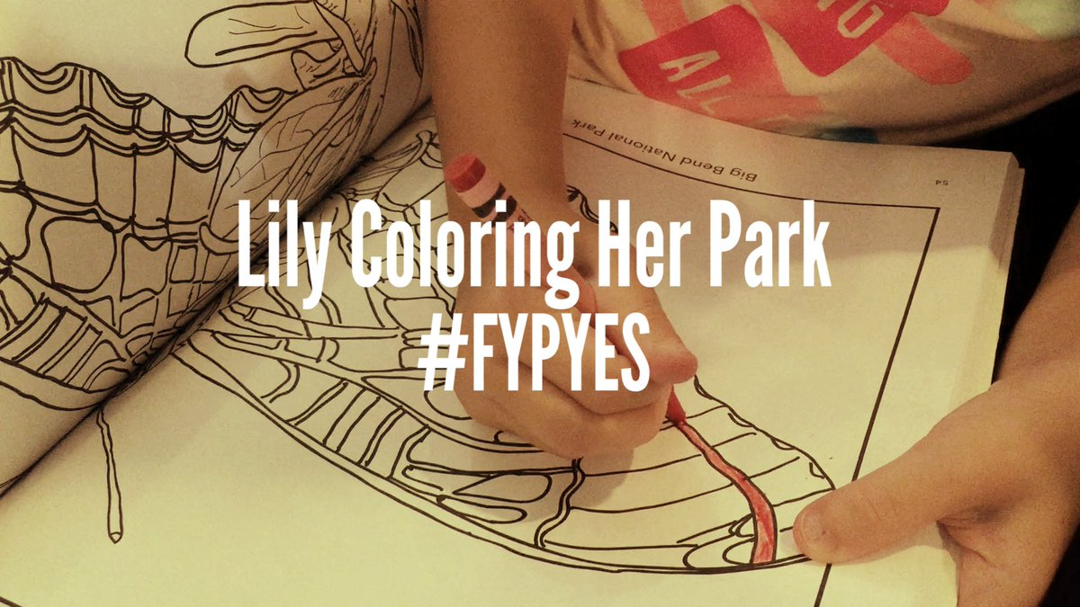 RT @anahnicolle: @GoParks Footage of L coloring in our @hitRECord book! https://t.co/6Q8J612iFH #FYPyes #fyp #hitrecord #anybarra83 https:/…