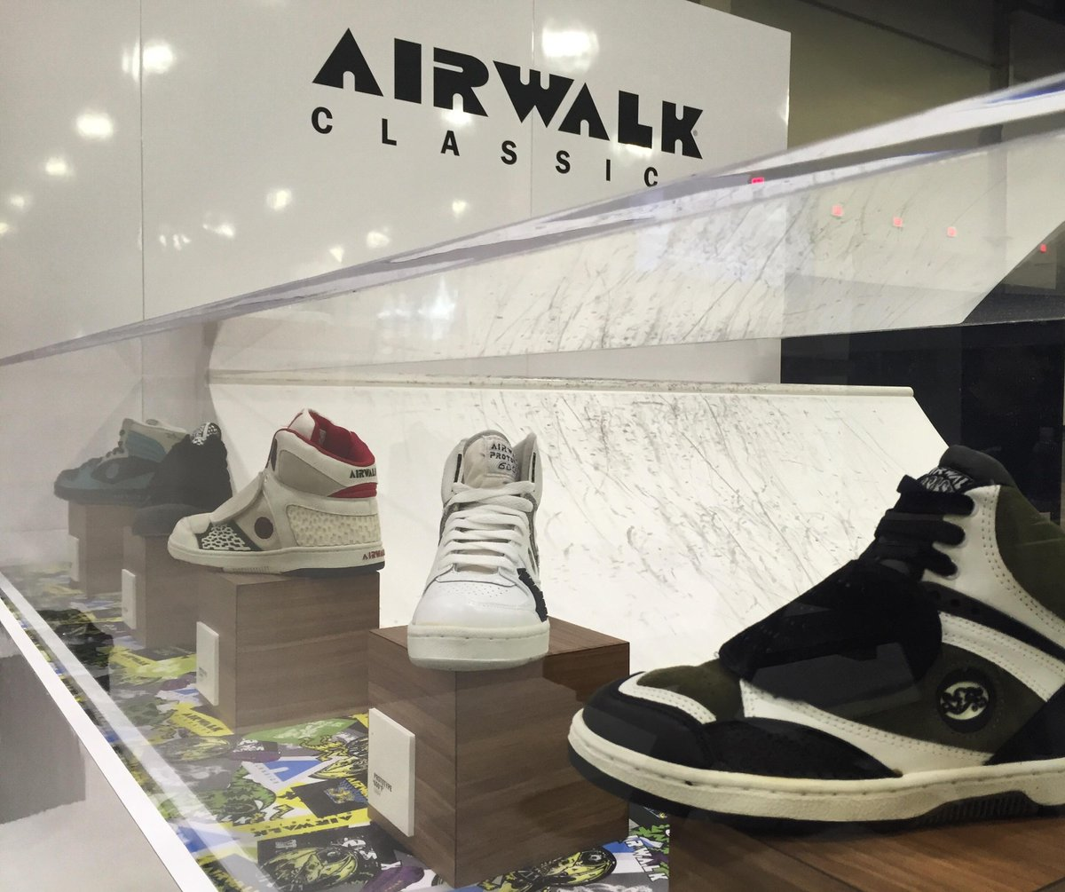 A classics comeback. What was your favorite style? #AgendaVegas #airwalkclassics https://t.co/0skZXLmhp4