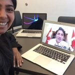 [Google] hangout w PM @JustinTrudeau discussing the Y20! How incredible to have such an accessible PM. #G20 #cdnpoli https://t.co/wiqU1rrgxl