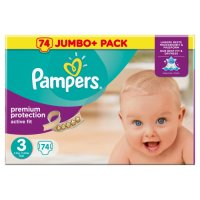Pampers Active Fit Size 3 Midi Nappies (74 Piece)  €14.99 https://t.co/NZZxgIH0A7