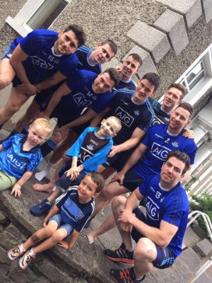 5th minute at Dublin V Kerry - applause for #BatmanBen if anyone can make it happen @Hill16Army can
