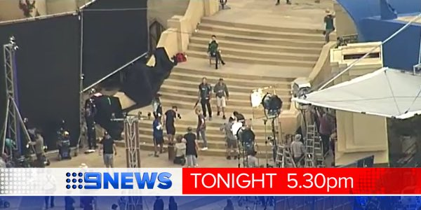 #Thor on the #GoldCoast - some of the first scenes shot. Details @9NewsGoldCoast #9News https://t.co/bILXXifbgT