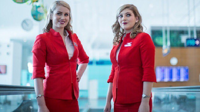Asian airline's new look - Aussie blondes