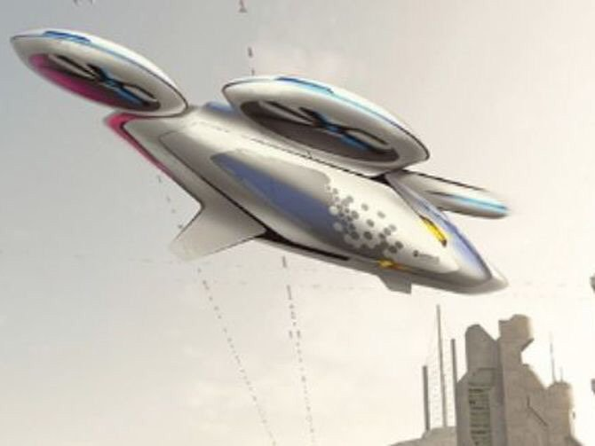 Forget self-driving cars -- how about a self-flying taxi?