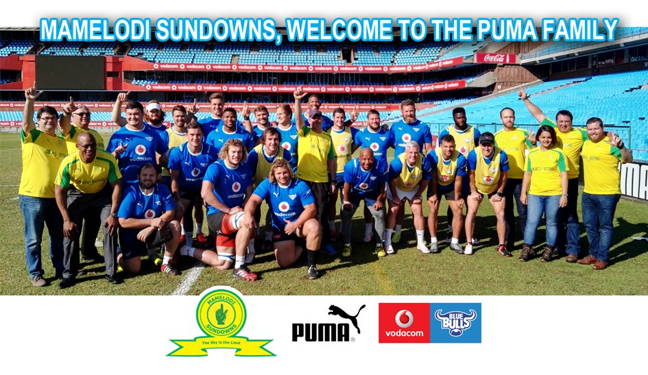 ....welcoming @Masandawana to the @PUMASouthAfrica family #BullsFamily https://t.co/zmpHbF6Jl1
