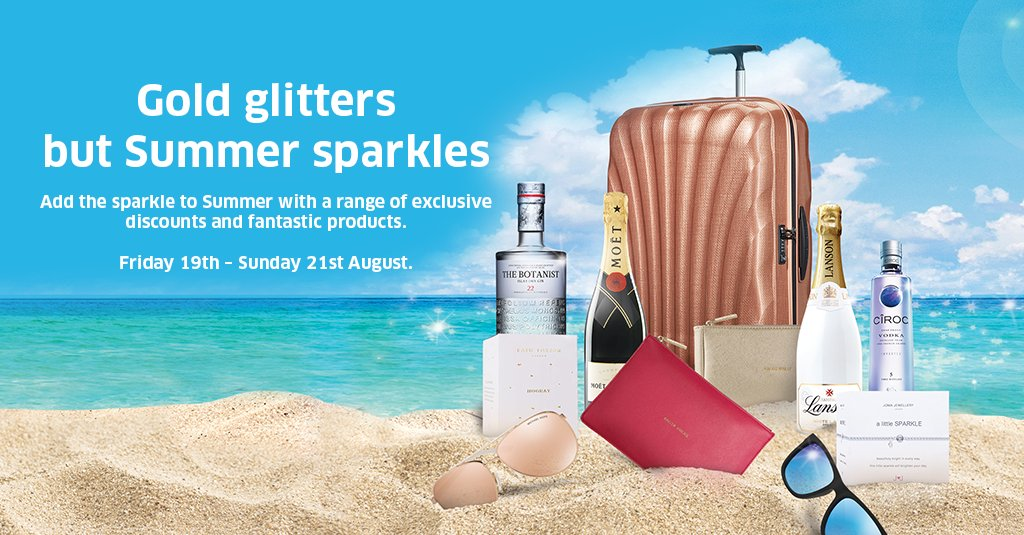 Check out the SummerSparkleOffers on at EDI Airport this weekend. More info @