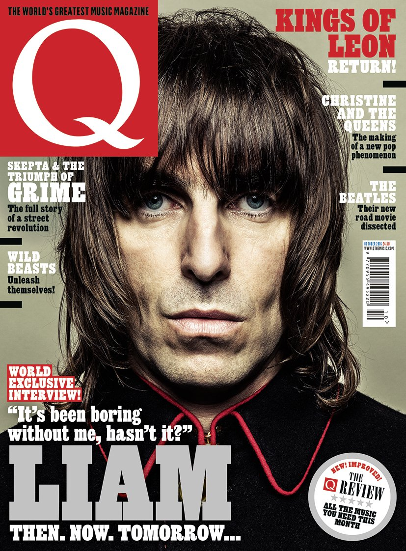 Liam Gallagher Returns! A world exclusive interview by @TedKessler1 in the new issue of Q, out on Tuesday. https://t.co/kyUb9cBK9O