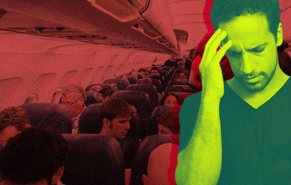 The 8 most annoying people you meet on a flight: