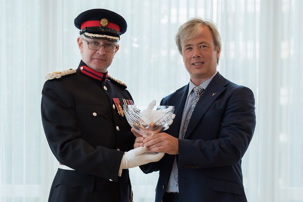 Last week we were officially awarded our Queen's Award for Enterprise. We're thrilled to bits! https://t.co/pio9HPssrv
