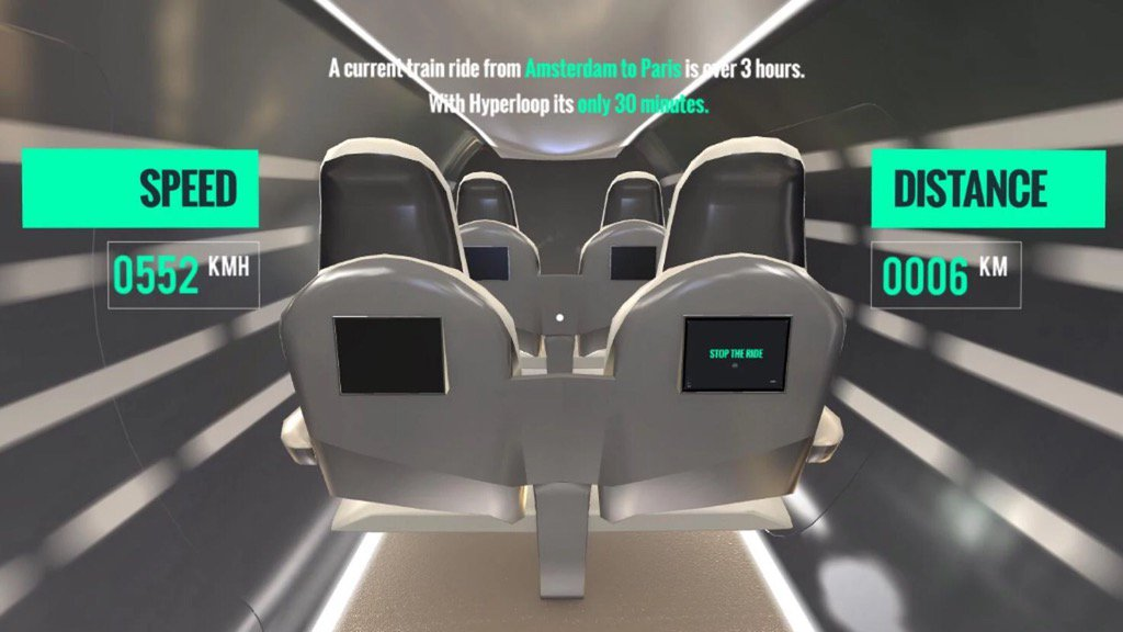 RT @ControversyDay: This Hyperloop VR app is a good reminder of how claustrophobic Hyperloop pods will be https://t…